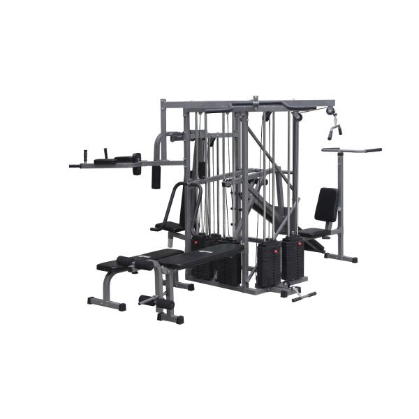 10 station gym