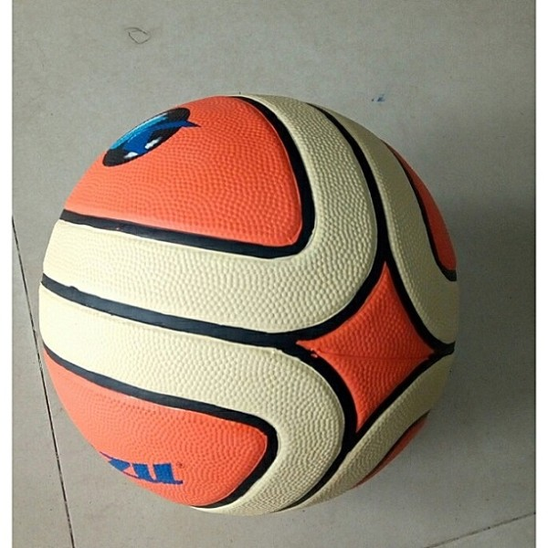 Children rubber Basketballs