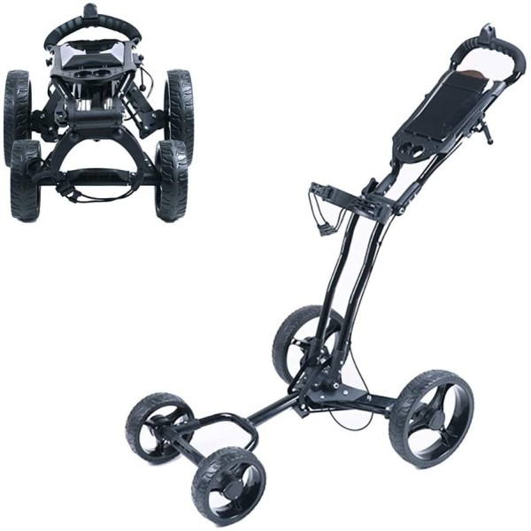 4 Wheel Golf Trolley
