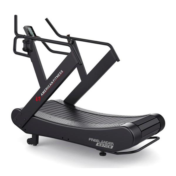 American Fitness 63710B Curve Treadmill