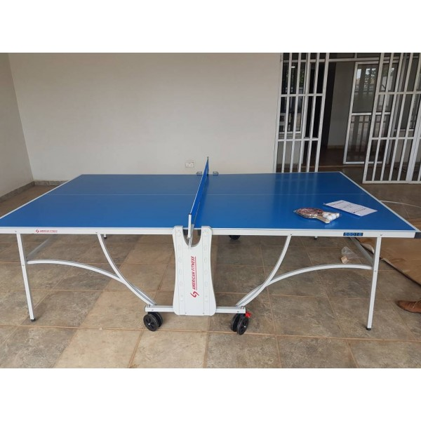 American Fitness Outdoor Table Tennis (h...
