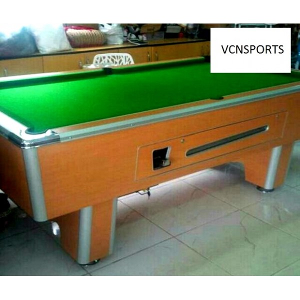 Snooker Board With Marble Top and Coin -...